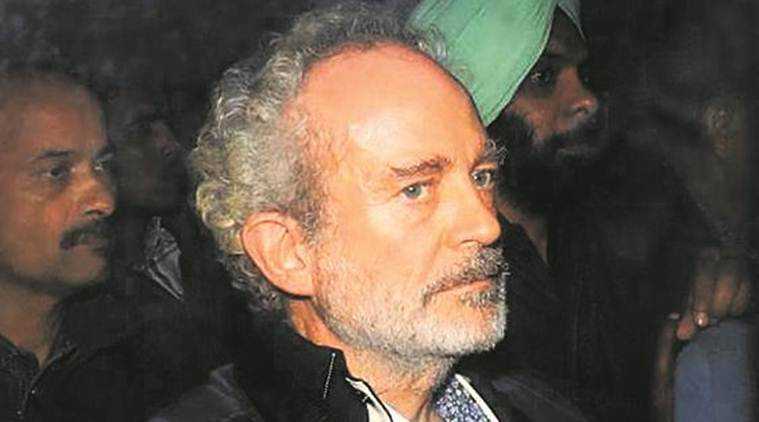 Express exposed Michel, Tyagi, note with initials; mentioned in chargesheet