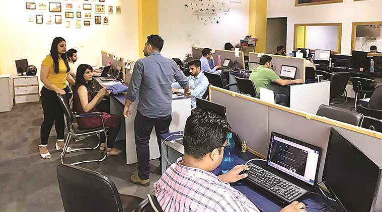 india, offices in india, work culture, office work culture, coworking, coworking spaces, workspace, entrepreneurs, business, chandigarh, chandigarh news, indian express news