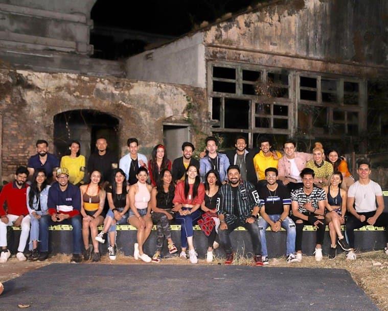 contestants on Roadies Real Heroes journey