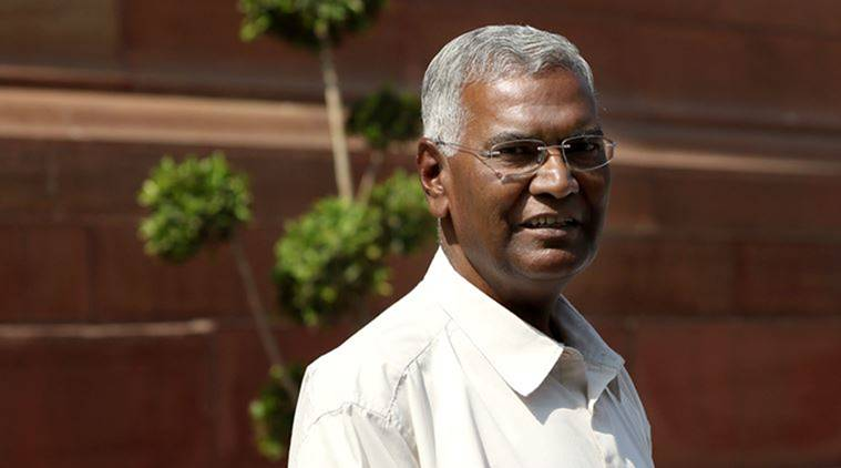 "Lok Sabha polls 2019: President should condemn ""Modi ki sena"" reference by BJP leaders, says D Raja"