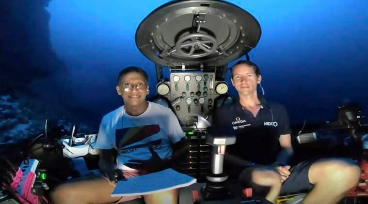 underwater speech, seychelles, seychelles president, danny faure, danny faure underwater speech, oceans, ocean protection, global warming, earth, water, indian ocean, world news, indian express news