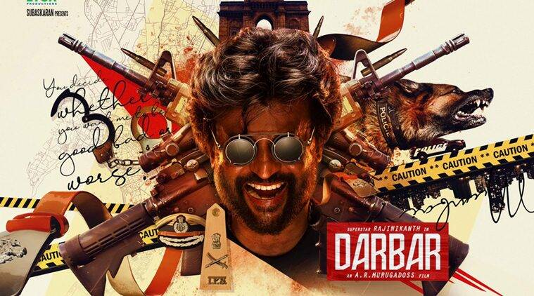 Rajinikanth movie Darbar first look unveiled