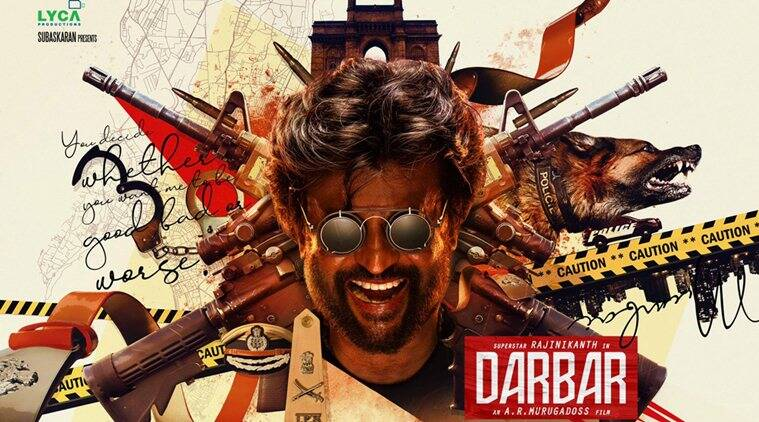 Rajinikanth's next movie titled Darbar, first look poster is out