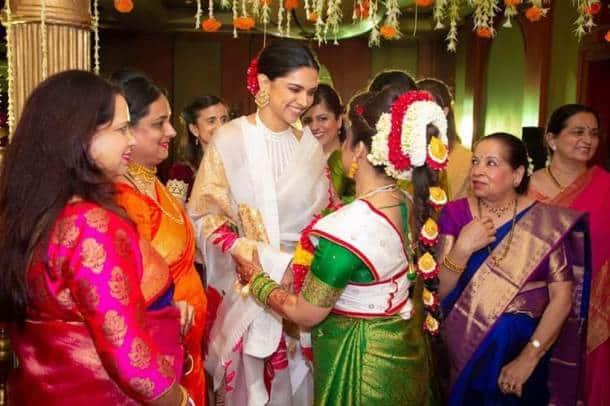 deepika with bride