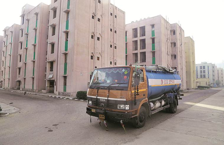 Cramped rooms, poor transport and unreliable water supply