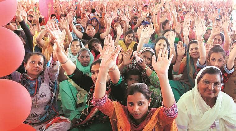 Lok Sabha polls 2019: Dera Sacha Sauda political wing holds congregation for followers