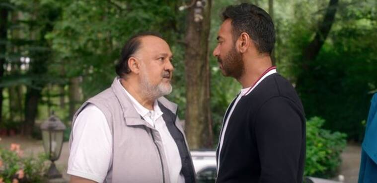 ajay devgn and alok nath