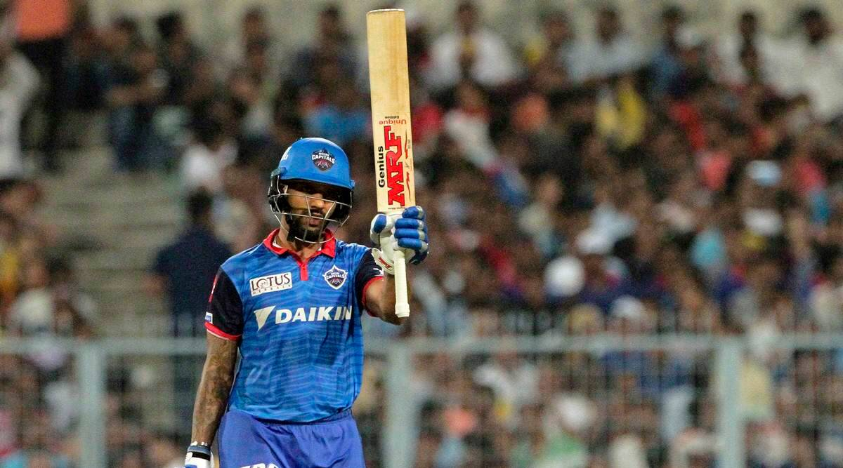 IPL 2019, KKR vs DC: Cricket fraternity hails Shikhar Dhawan for 'excellent knock'   Sports News,The Indian Express