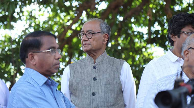 Hindutva of RSS breaks people, won't let my religion be politically hijacked: Digvijaya Singh