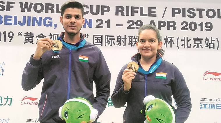 Steady Hand, Stout Heart: Anjum Moudgil-divyansh Panwar Clinch Gold At Issf World Cup In Beijing