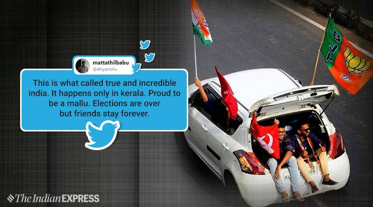 A photo from Kerala that shows friendships can exist across party lines is going viral