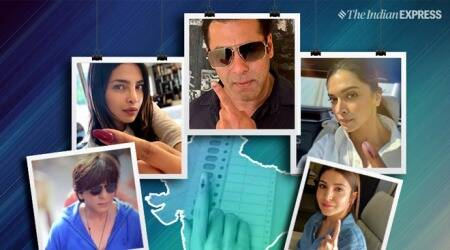 lok sabha elections bollywood stars voting
