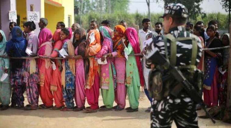 Lok Sabha elections: Faulty EVMs, violence delay polling in Andhra Pradesh
