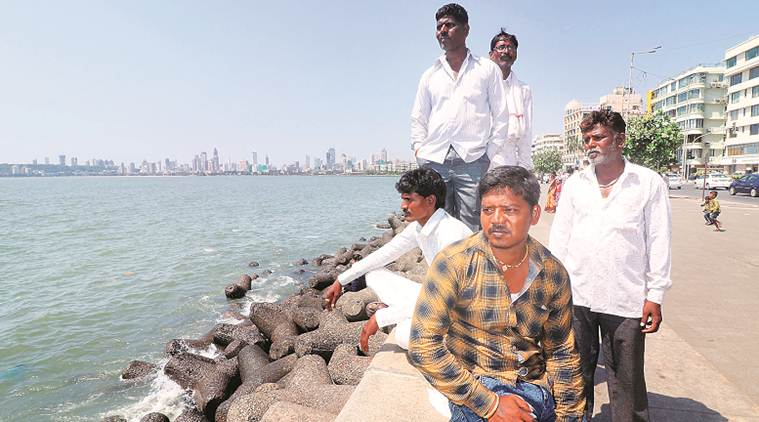 ex convicts, mumbai news, mumbai ex convicts, marine drive, mumbai news, indian express