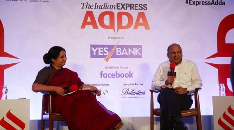 PB Mehta at Express Adda: Liberal, secular seen as bad words, even Opposition shies