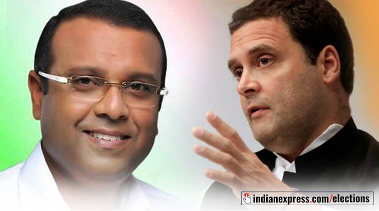 BDJS' Thushar Vellappally is the NDA candidate against Congress' Rahul Gandhi from Wayanad.