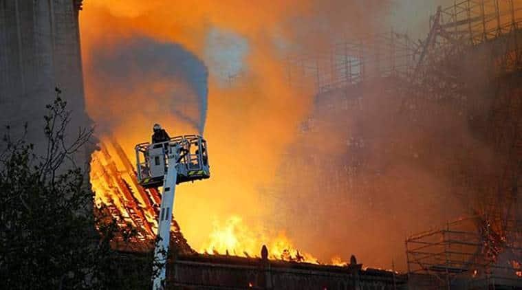 Notre Dame Cathedral fire, Paris Cathedral fire, Notre Dame Fire, Notre Dame blaze, Notre Dame Cathedral, Notre Dame spire, Notre Dame burnt, France, Emmanuel Macron, Paris fire, Paris Fire LIVE Updates, Notre Dame Cathedral Fire LIVE, world news, latest news