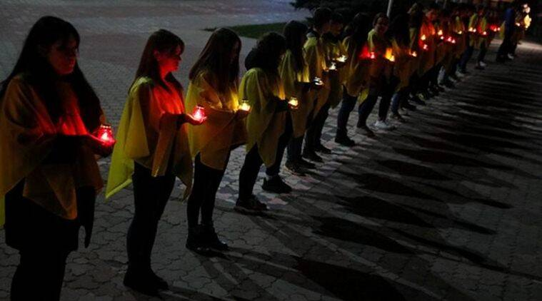 Remembering Victims Of Chernobyl Disaster On 33rd Anniversary