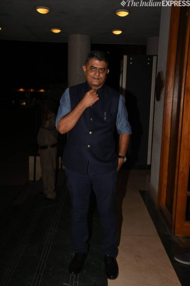 gajraj rao at Manoj Bajpayee birthday