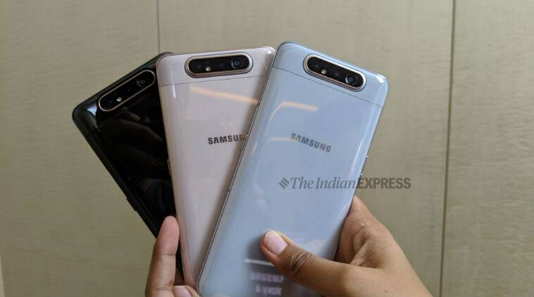 samsung galaxy a80, galaxy a80, galaxy a80, galaxy a80 price, galaxy a80 specifications, galaxy a80 features, galaxy a80 launch, galaxy a80 rotating front camera, rotating popup camera