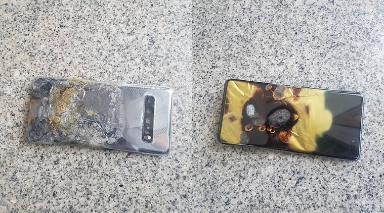 Samsung Galaxy S10 5G, Galaxy S10 5G fire, galaxy S10 5G catching fire, Galaxy S10 5G catching fire in South Korea, Galaxy s10, Galaxy S10 5G price in India, Samsung Galaxy S10