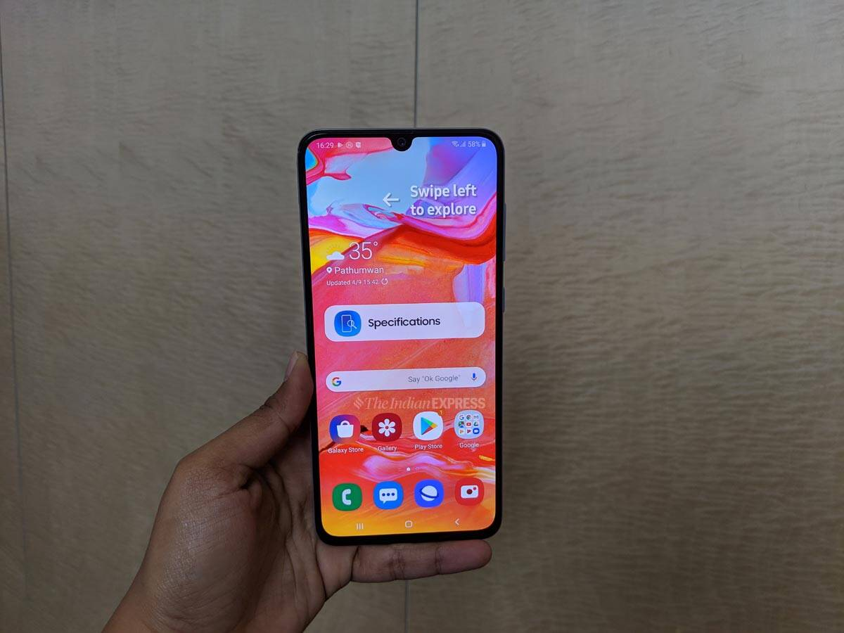 e8eed4d6266097 Samsung Galaxy A70 listed on India site ahead of launch: Price,  specifications