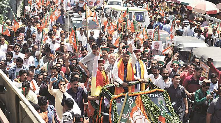 In Himachal, BJP miles ahead in campaigning, banking on Modi factor
