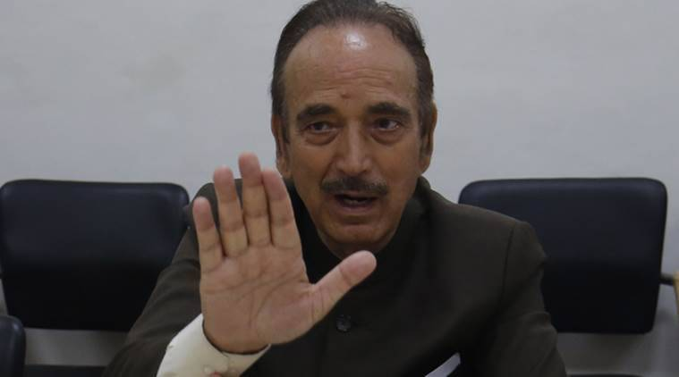 jammu kashmir, kashmir article 370 revoked, Ghulam Nabi Azad, kashmir clampdown, jammu kashmir lockdown, leaders detained in kashmir