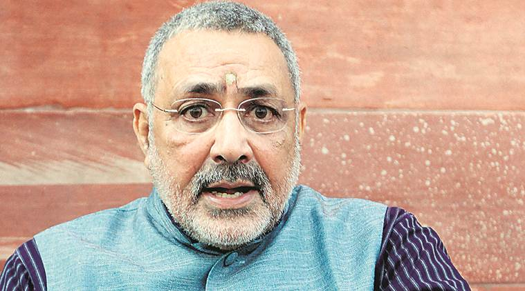 union minister giriraj singh, birth control, population control, population explosion, world population day, muslims, muslim population, bihar news, india news, indian express
