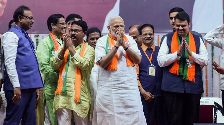PM Narendra Modi in Gondia: Congress manifesto a 'conspiracy of Pakistan'