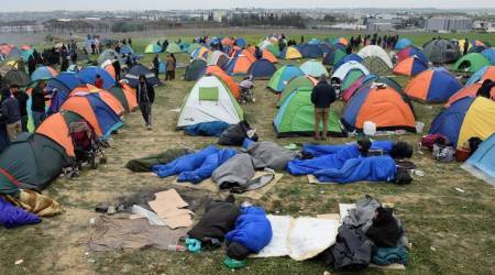 Greece, Greece migrants, Greece migrant crisis, Greece refugees, refugee crisis, Greece europe border, Balkan Greece border, Greece migrant crisis, Indian Express, latest news