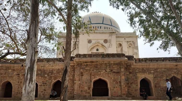 Delhi, bara lao ka gumbad, Delhi monuments, Delhi history, south delhi, Vasant Vihar, Tughlaqs, Tughlaqs in Delhi, Delhi news, India news, Indian Express