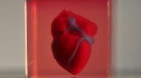 3d heart, 3d printed heart, tel aviv university, printed heart, artificial heart, heart printed with patient cells, prof Dvir, advance science, working 3d heart, working printed heart