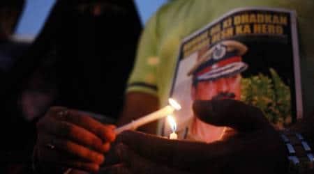 Hemant Karkare, sadhvi pragya thakur, malegaon blasts accused, lok sabha elections