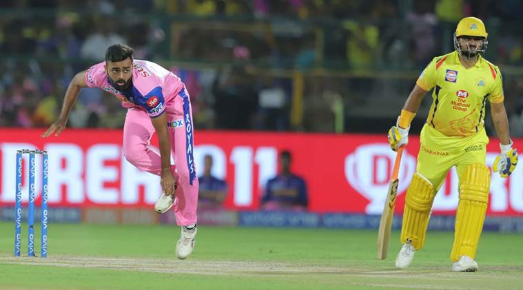 Ipl 2019 Rr Vs Csk Match Highlights Chennai Super Kings Win By 4 Wickets Sports News The Indian Express