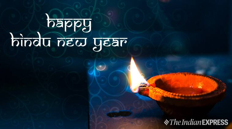 happy hindu new year 2019 wishes images quotes status wallpaper sms messages photos pics and greetings lifestyle news the indian express happy hindu new year 2019 wishes