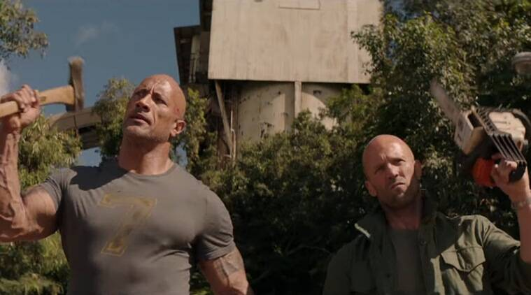 fast and furious presents hobbs and shaw trailer