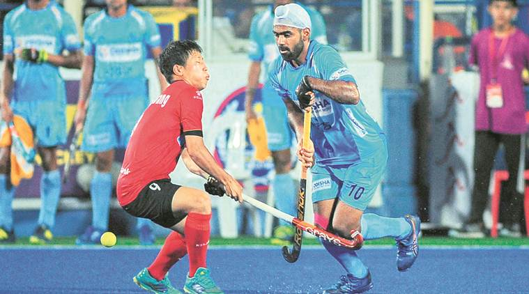 indian hockey team, india hockey, india vs korea. india vs korea hockey, sultan azlan shah cup, azlan shah cup, hockey news, sports news