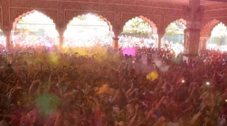 Holi, Holi in Mughal times, Mughal holi, Navroz, hindu festival, sufi, Muslim culture, holi in muslim culture, indian express