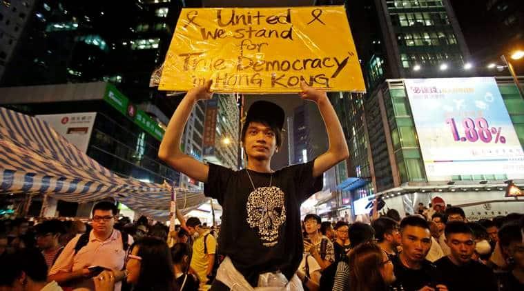 Hong Kong, Hong Kong Umbrella Revolution 2014, 2014 Umbrella Revolution Hong Kong, Hong Kong protests, Democracy China, China Democracy, Xi Jinping,Umbrella revolution explained, What is Umbrella Revolution, indian express