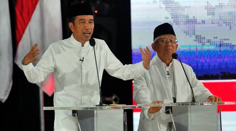 indonesia, indonesia elections, Joko Widodo, Indonesia president, elections in Indonesia, Indonesian elections 2019, 2019 Indonesia elections, Joko Widodo Indonesia, Prabowo Subianto, Prabowo Subianto Indonesia, muslims, muslim majority nation, indonesian economy, Indonesia news, world news, latest news, Indian Express news