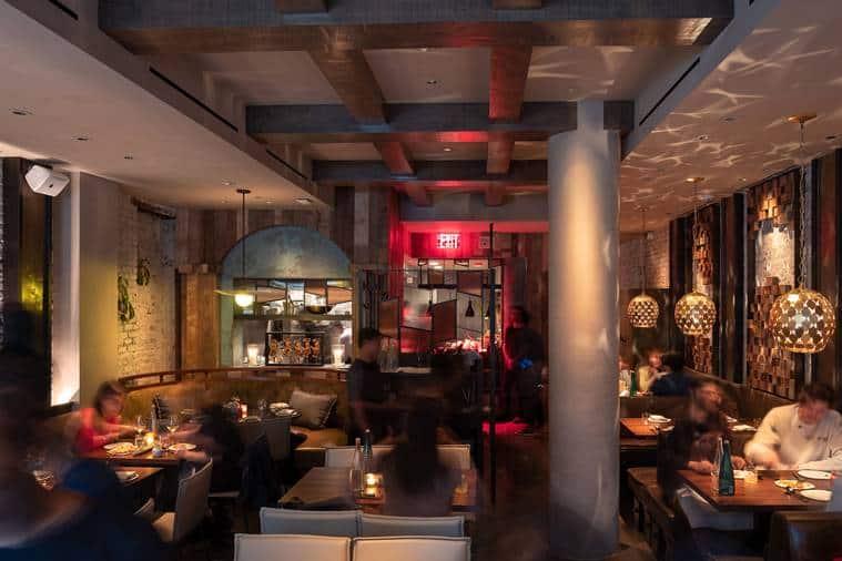 Jean-Georges Vongerichten, Asian Party Temple restaurant, Perry St. in Manhattan, Indonesia's cuisine