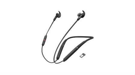jabra, jabra evolve 65e, evolve 65e, jabra evolve 65e neckband, jabra evolve 65e launch, jabra evolve 65e price, jabra evolve 65e price in india, jabra evolve 65e specs, jabra evolve 65e features, jabra evolve 65e uc-certification, jabra evolve 65e for skype calls, jabra evolve 65e battery life