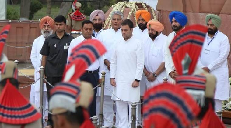 Narendra Modi, Amarinder Singh, jallianwala Bagh event, Jallianwala Bagh massacre, Rahul Gandhi, BJP, COngress, India news, Lok Sabha elections, Indian Express