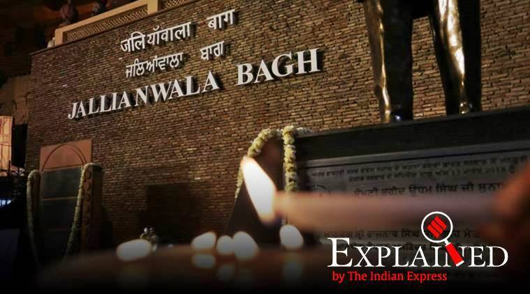 Jallianwala Bagh , Jallianwala Bagh massacre, Jallianwala Bagh India, India Jallianwala Bagh, Mahatma Gandhi Jallianwala Bagh, Jallianwala Bagh Gandhi, General Dyer, General Dyer Jallianwala Bagh, Express Explained, Indian Express