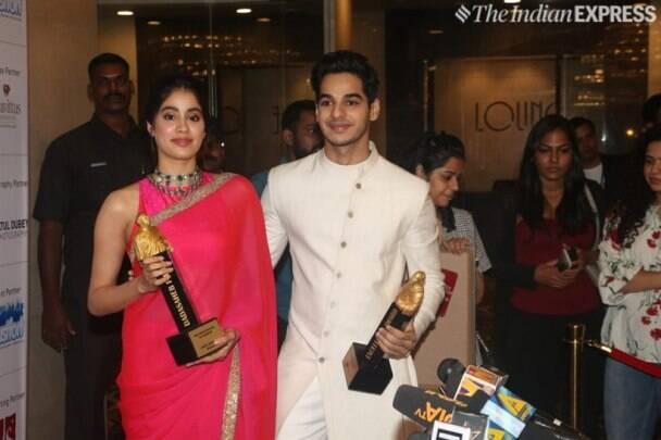 Janhvi Kapoor and Ishaan Khatter Dadasaheb Phalke Excellence Awards 2019