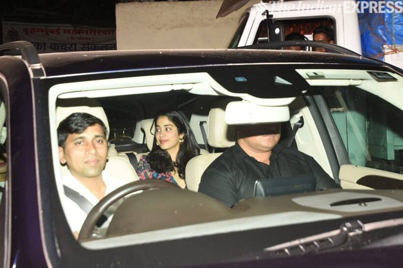 Janhvi Kapoor at Kalank screening