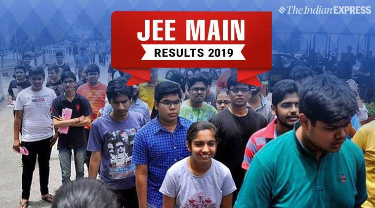 ef0dae23c JEE Main Result 2019 Date  How to check and calculate the jee main score