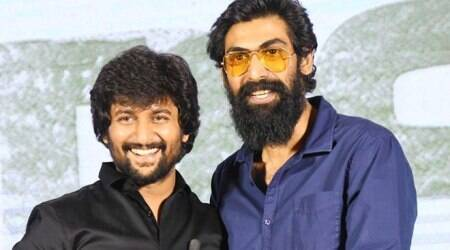 Rana Daggubati attends Jersey thanks meet with Nani