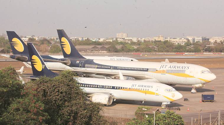jet airways, jet airways grounded, jet airways plane grounded, jet airways debt, naresh goyal, jet airways salary, jet airways pilots salary, jet airways news